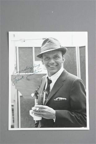 Frank Sinatra Autographed Photograph