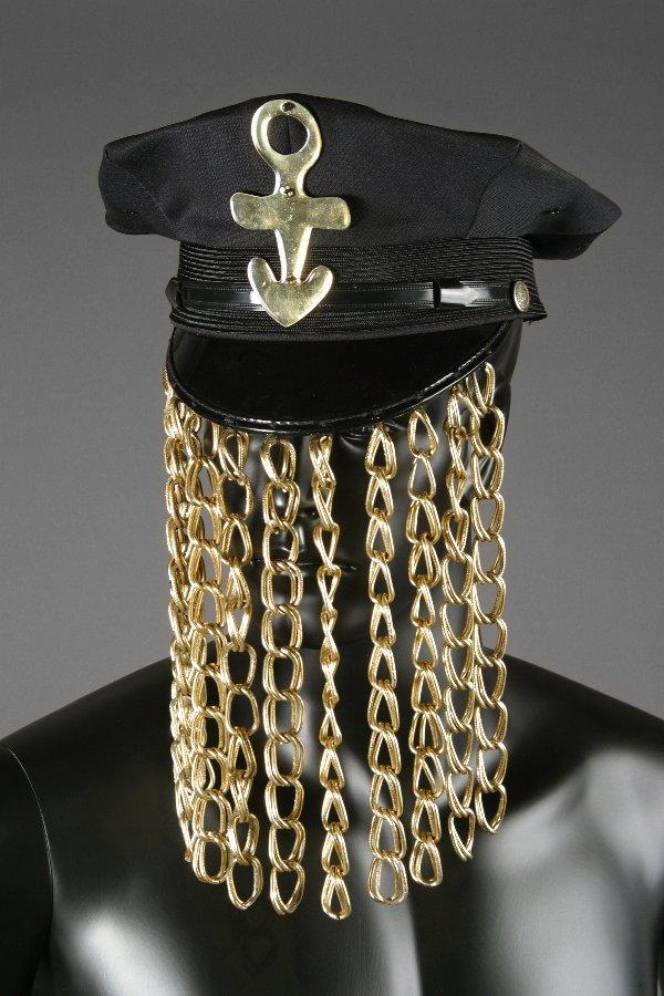 164: Prince Worn Gold Chain Hat