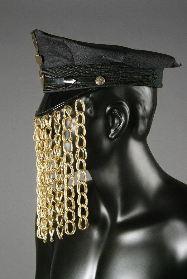 164: Prince Worn Gold Chain Hat - 2