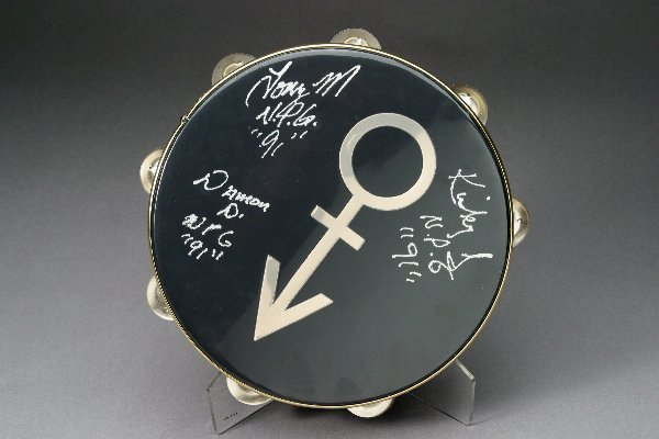 166: Prince Used Concert Tambourine
