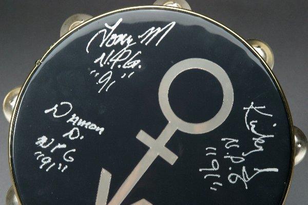 166: Prince Used Concert Tambourine - 2