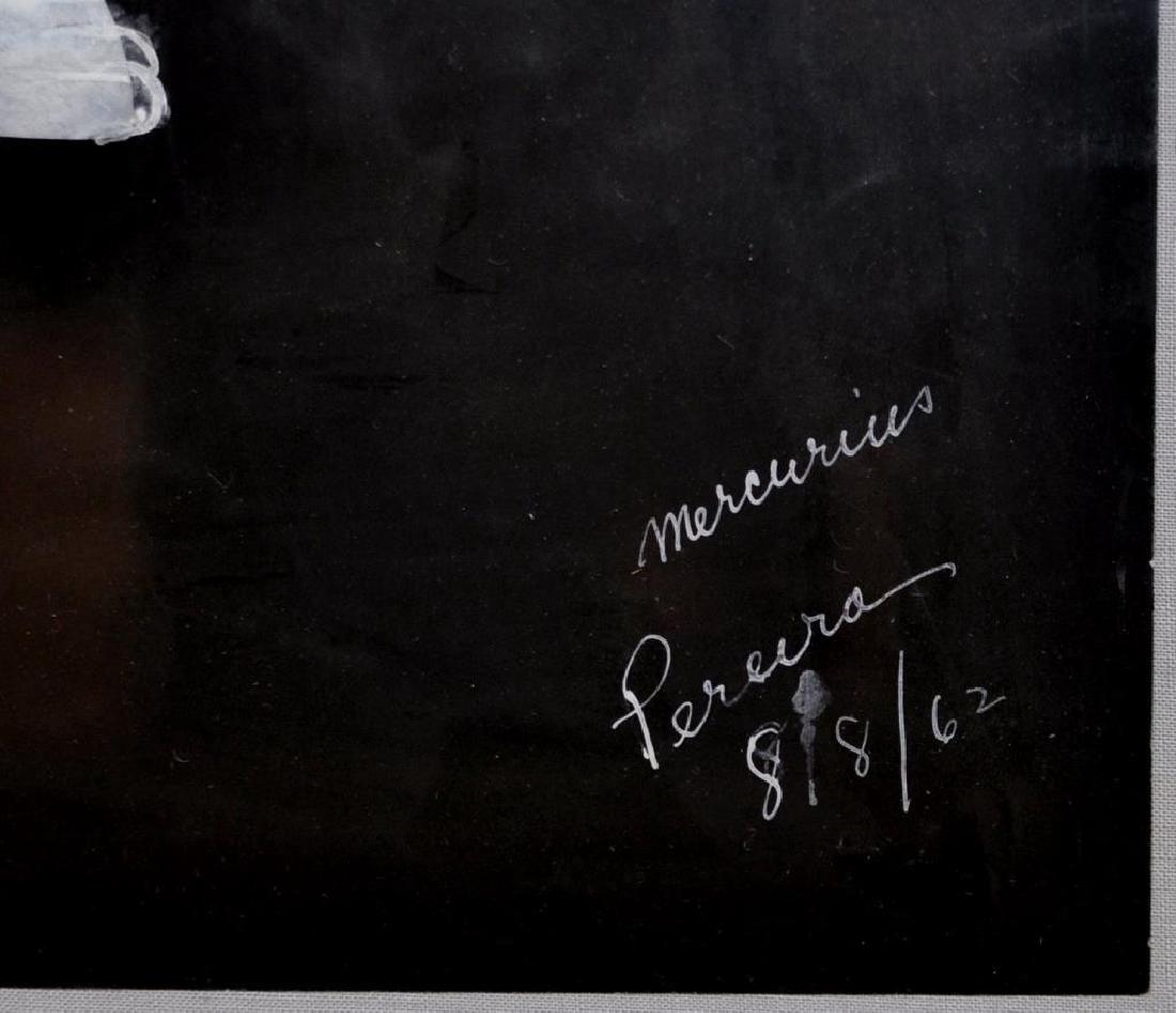 """Irene Rice Pereira, """"Mercurius"""" Gouache on Paper - 3"""