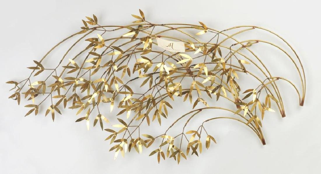 "Curtis Jere ""Arbor Branch"" Brass Sculpture"