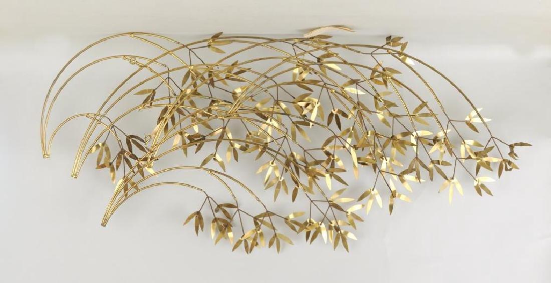 "Curtis Jere ""Arbor Branch"" Brass Sculpture - 2"