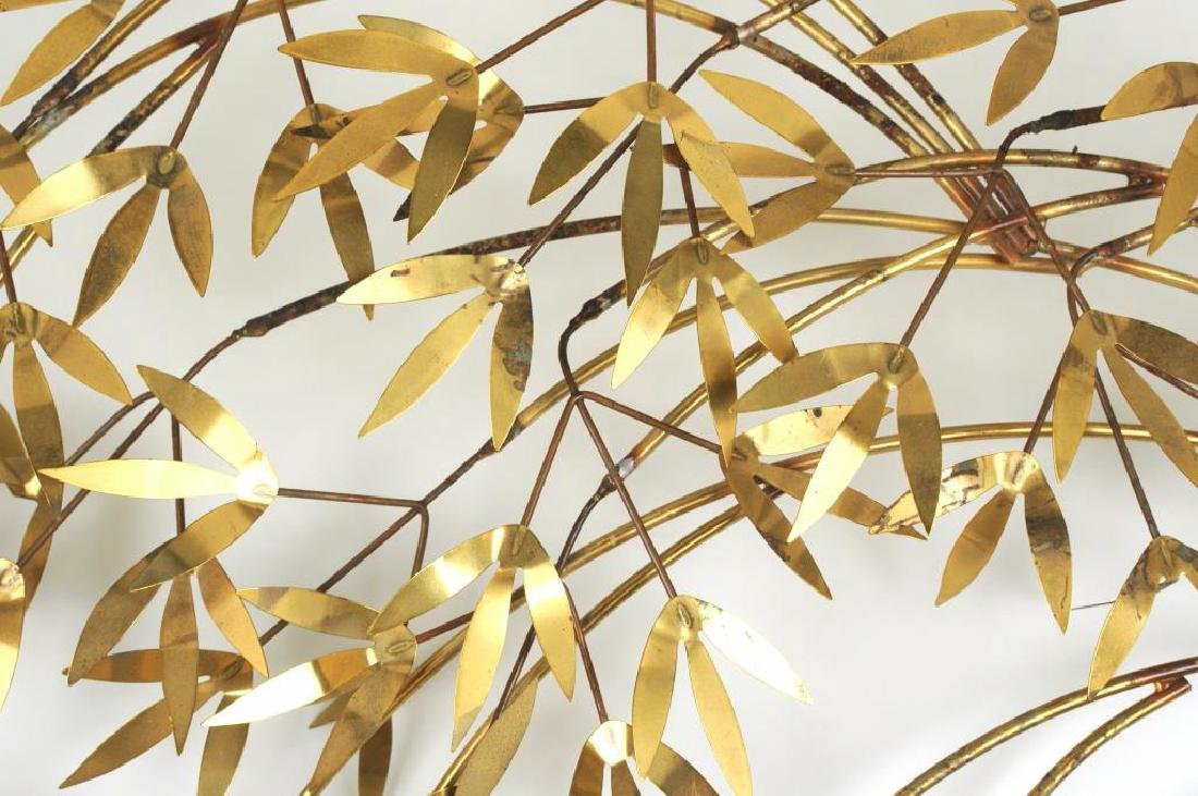 "Curtis Jere ""Arbor Branch"" Brass Sculpture - 3"