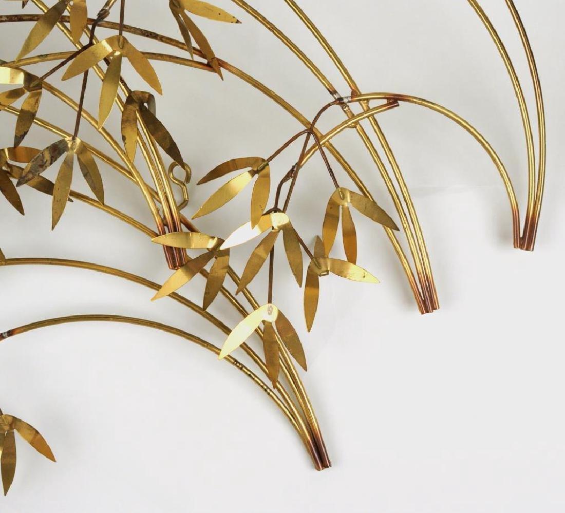 "Curtis Jere ""Arbor Branch"" Brass Sculpture - 4"