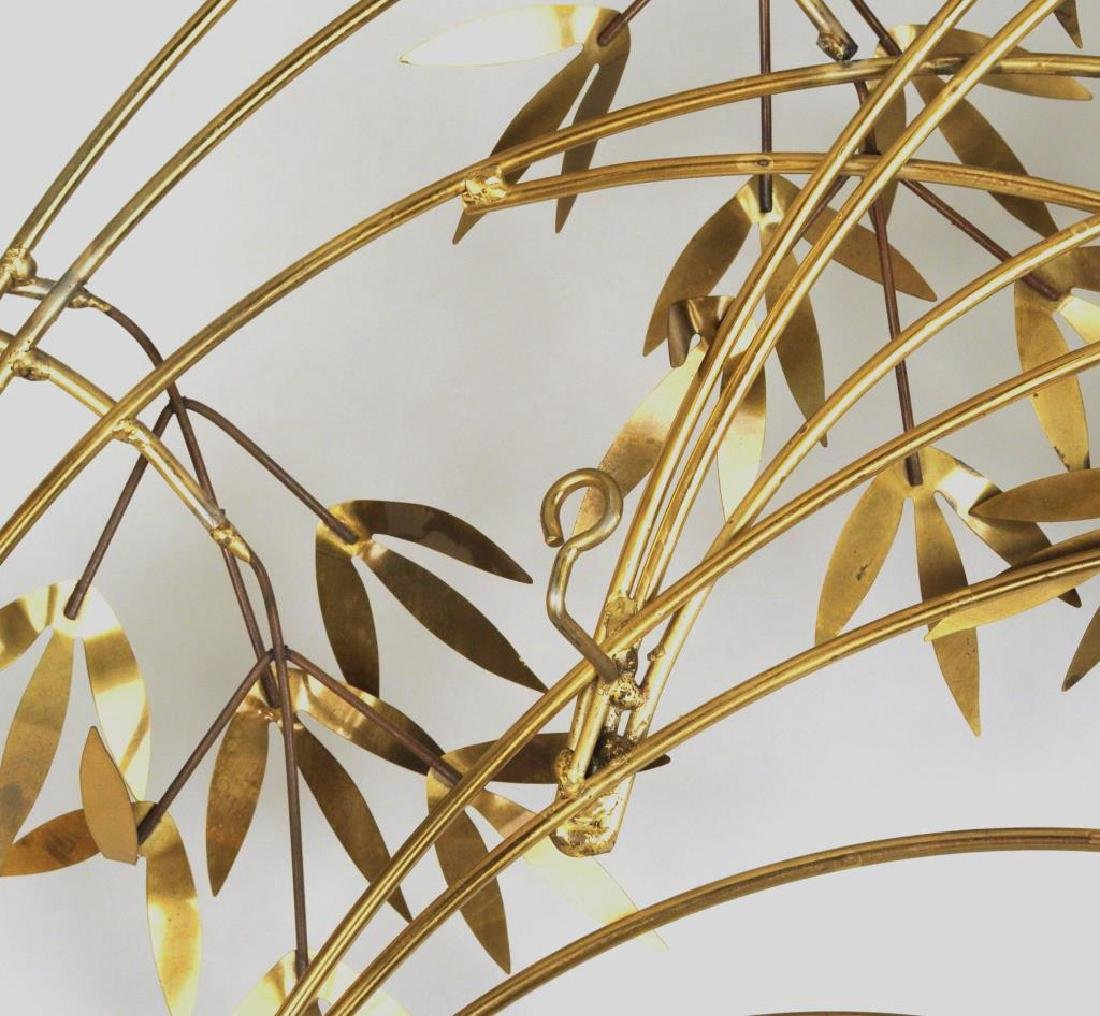 "Curtis Jere ""Arbor Branch"" Brass Sculpture - 5"