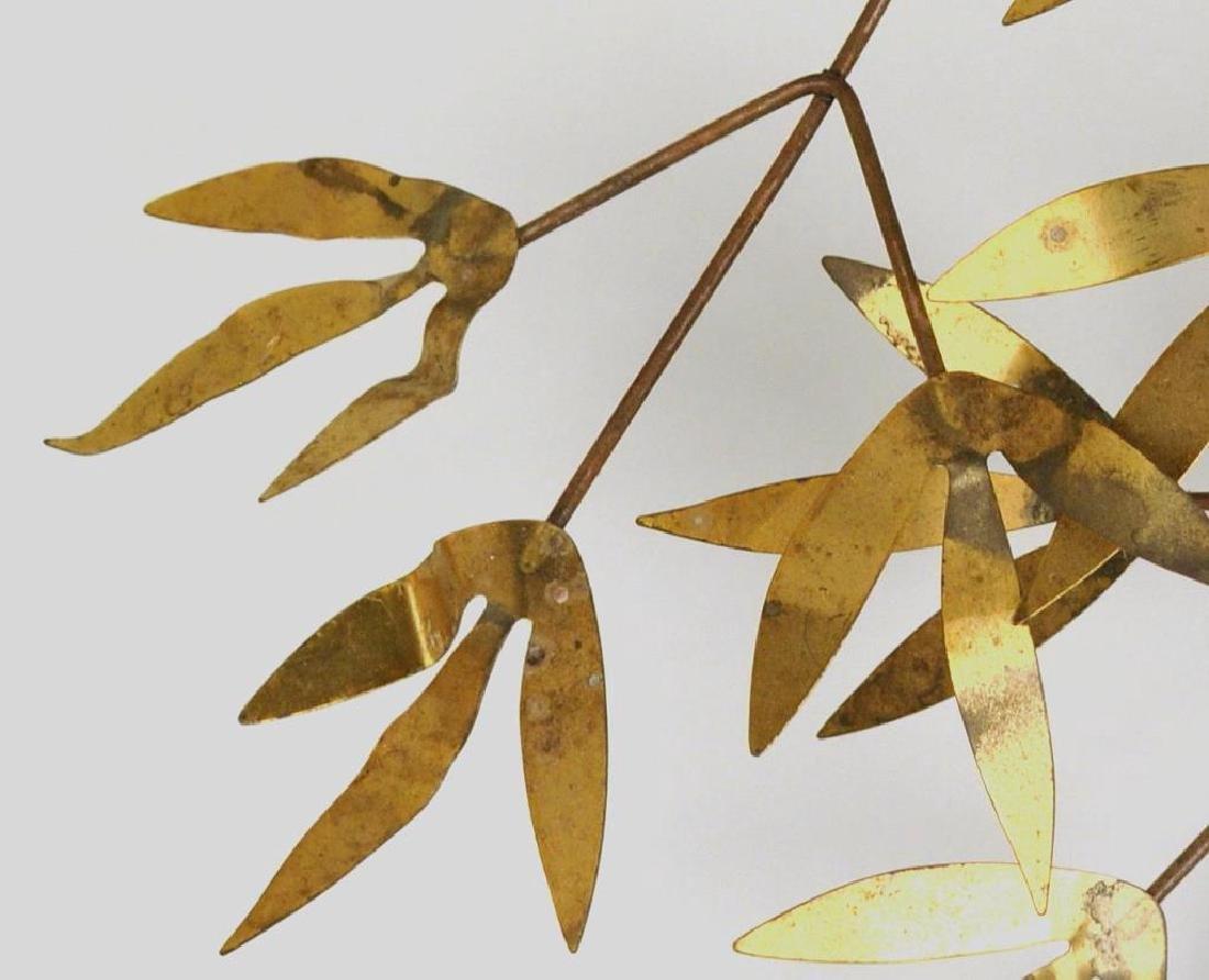 "Curtis Jere ""Arbor Branch"" Brass Sculpture - 6"
