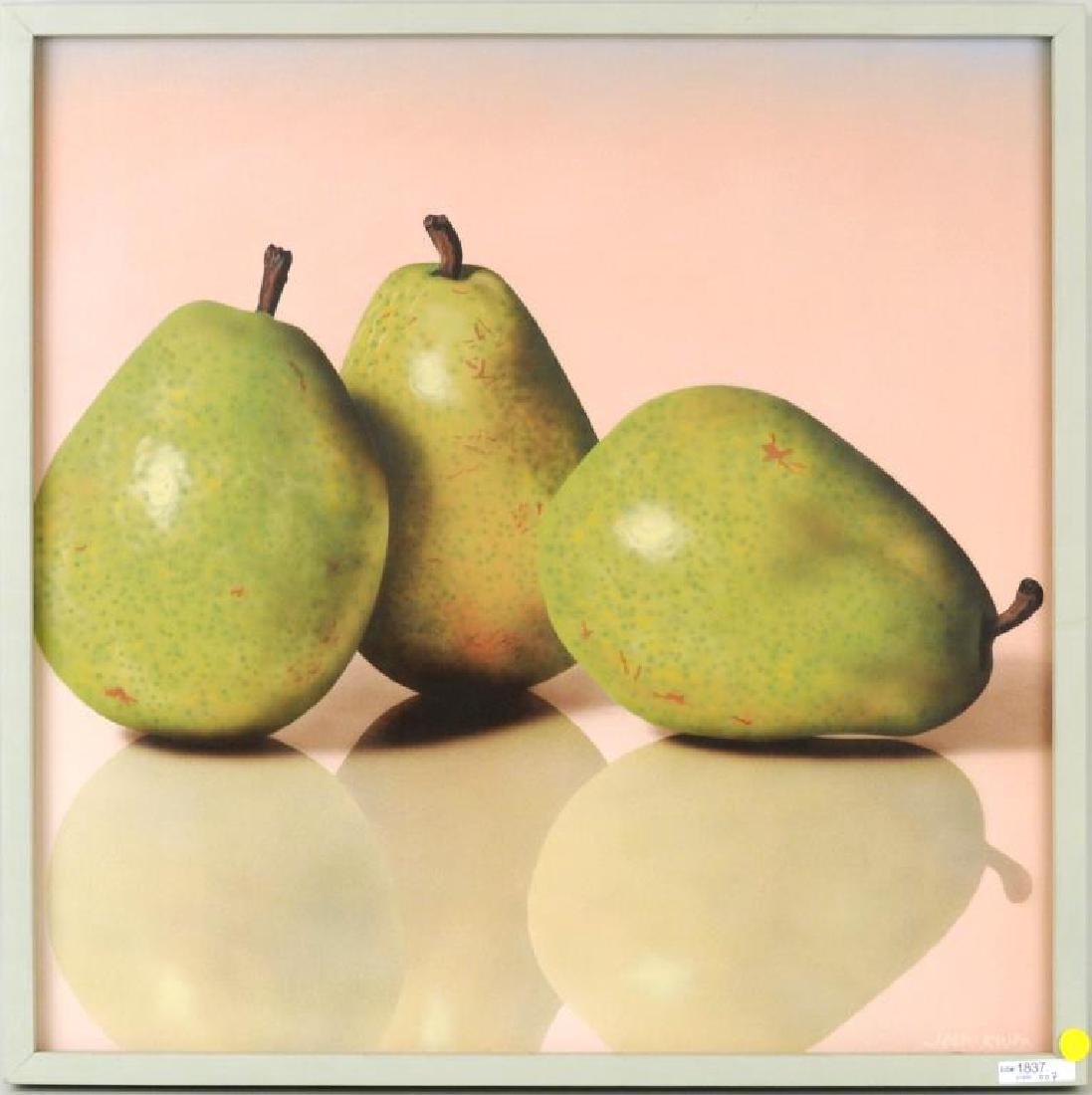 """John Kuhn, """"Green Pears"""" A/C"""