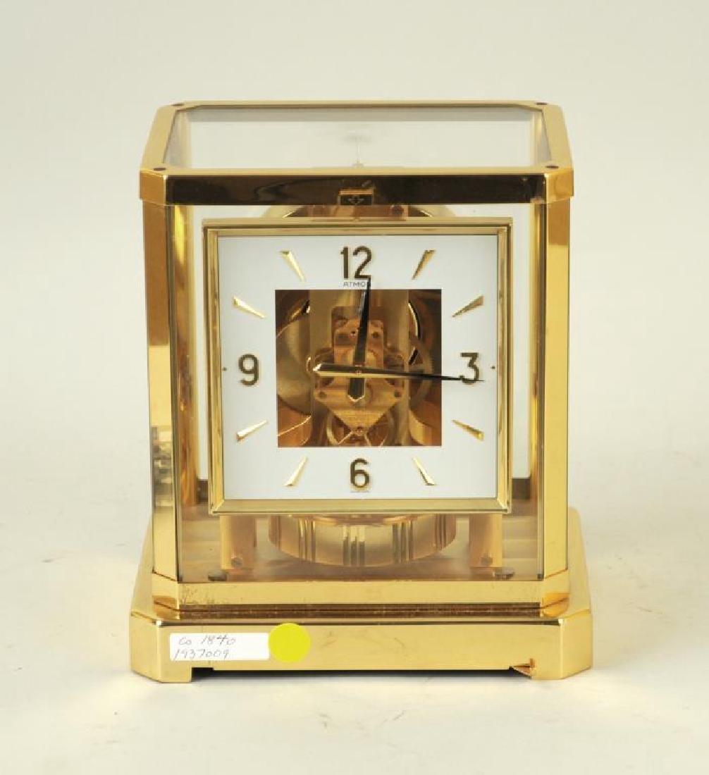 Modern Brass Atmos Desk Clock