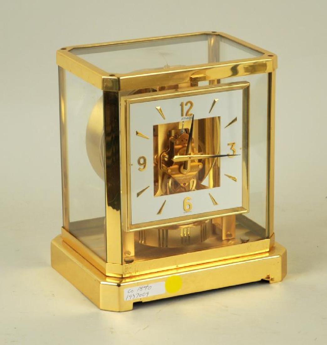 Modern Brass Atmos Desk Clock - 2
