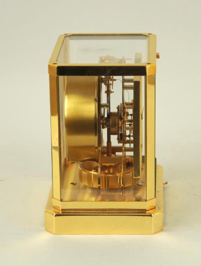 Modern Brass Atmos Desk Clock - 3