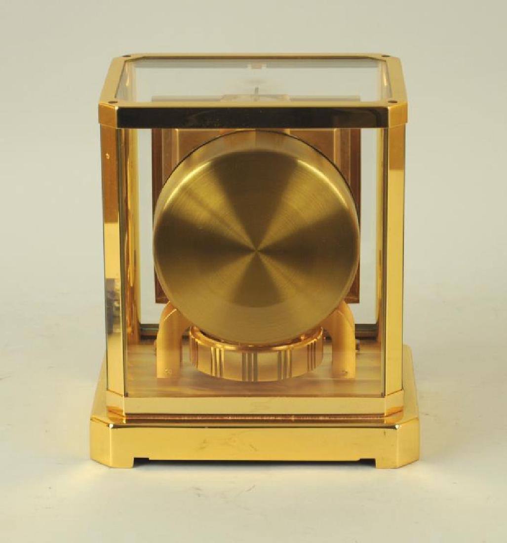 Modern Brass Atmos Desk Clock - 4