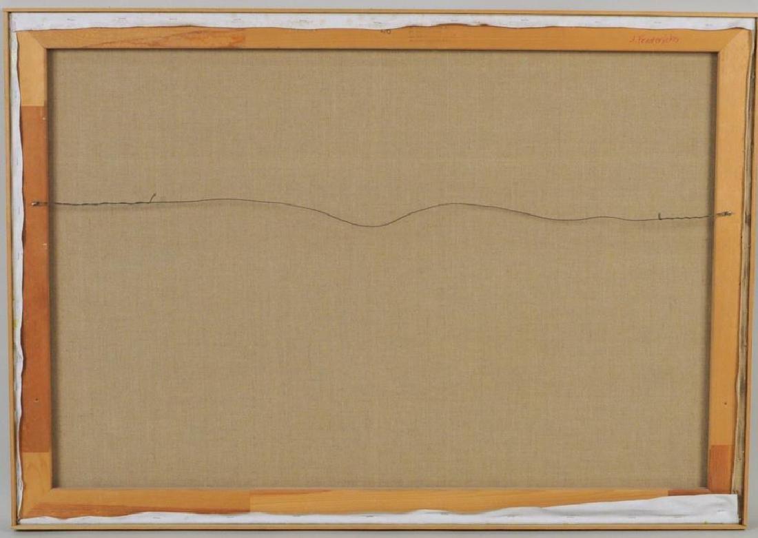 "Janet Fredericks, ""Landscape Poolside Scene"" - 4"