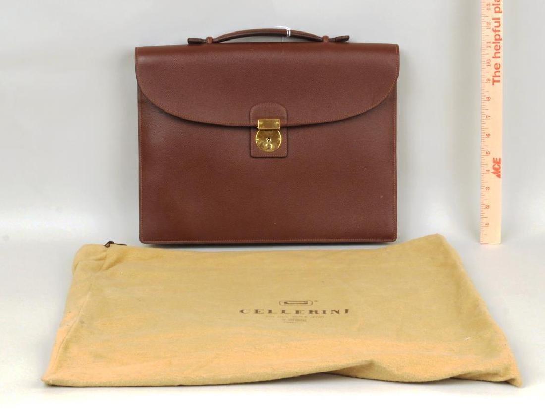 Cellerini Italian Briefcase Made In Florence