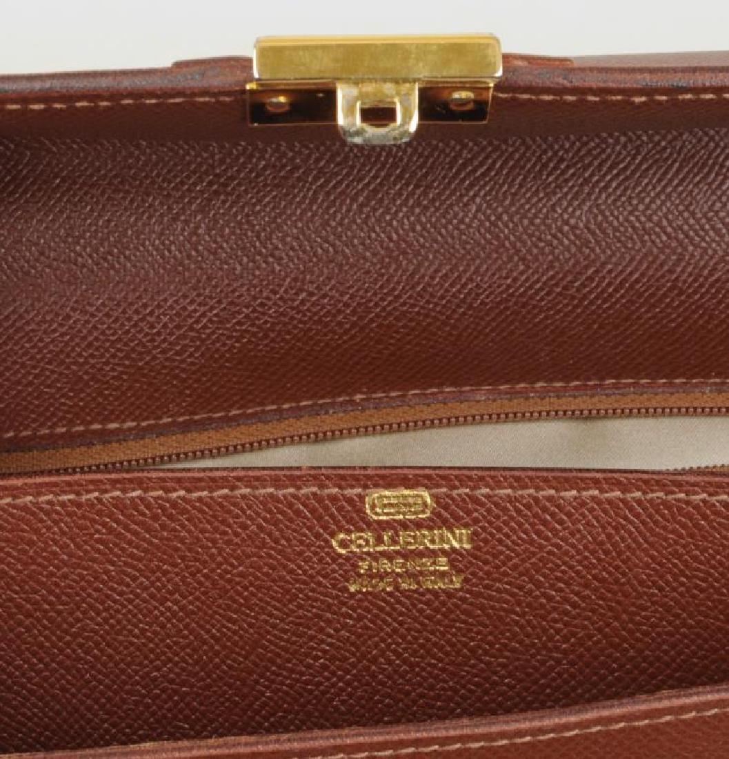 Cellerini Italian Briefcase Made In Florence - 4