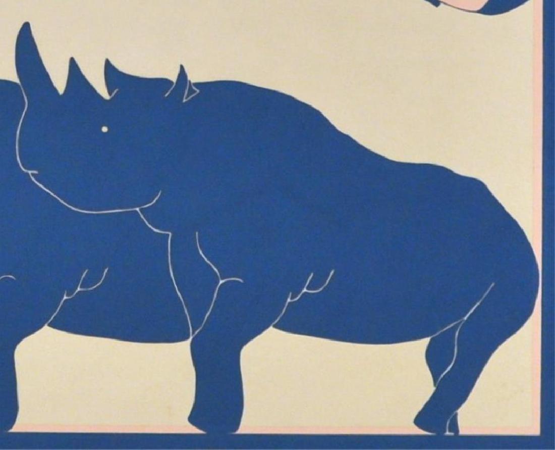 "John Welsey, ""Dream of Unicorns"" Silkscreen - 2"