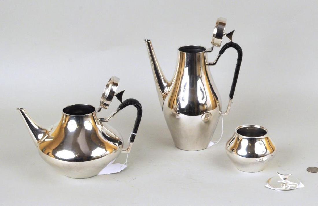 Modern Reed & Barton Partial Tea & Coffee Service - 3