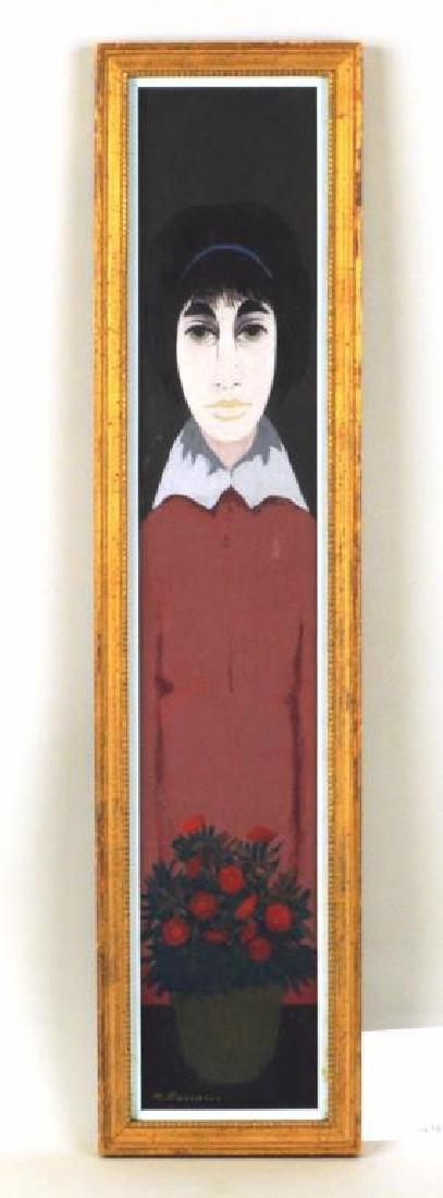 """Marcello Boccacci """"Woman In Red"""" O/B"""