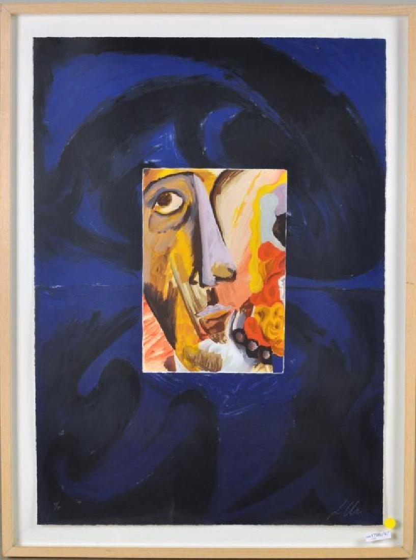 "L. Urs, ""Portrait"" Framed Lithograph"