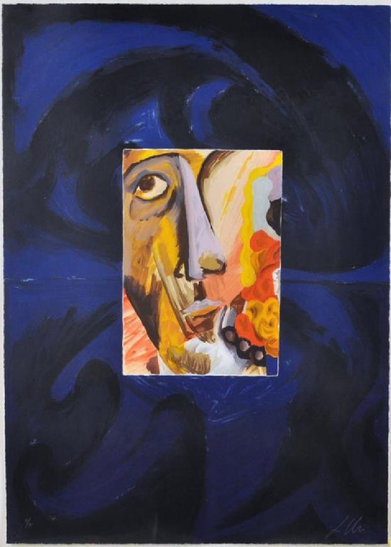 "L. Urs, ""Portrait"" Framed Lithograph - 2"