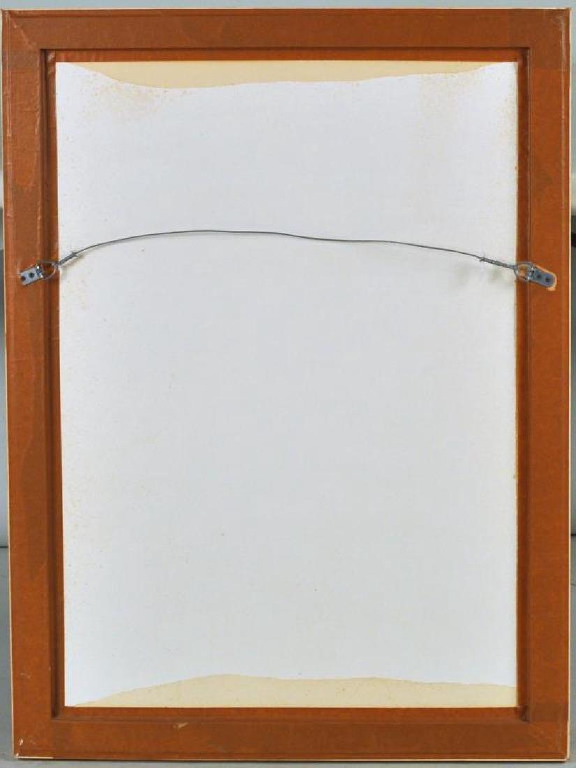 "L. Urs, ""Portrait"" Framed Lithograph - 4"