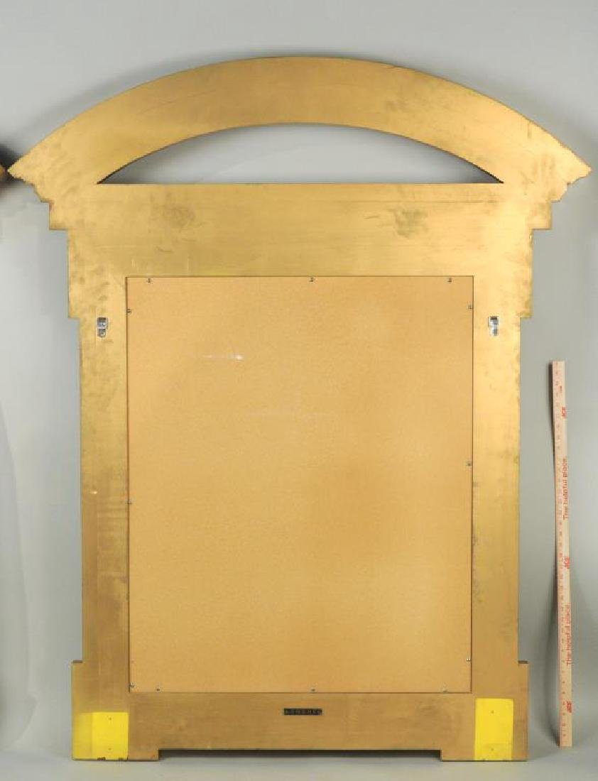Large Pair Donghia Georgian Style Gilt Mirrors - 2