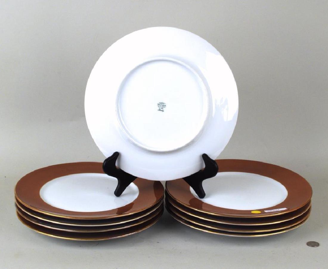 Set Eight R. Ginori Porcelain Service Plates - 2
