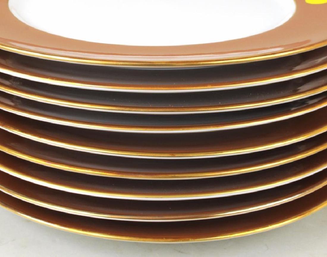 Set Eight R. Ginori Porcelain Service Plates - 4