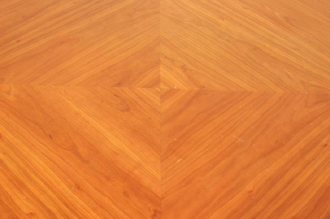 Modern Cherry Oval Dining Table - 2