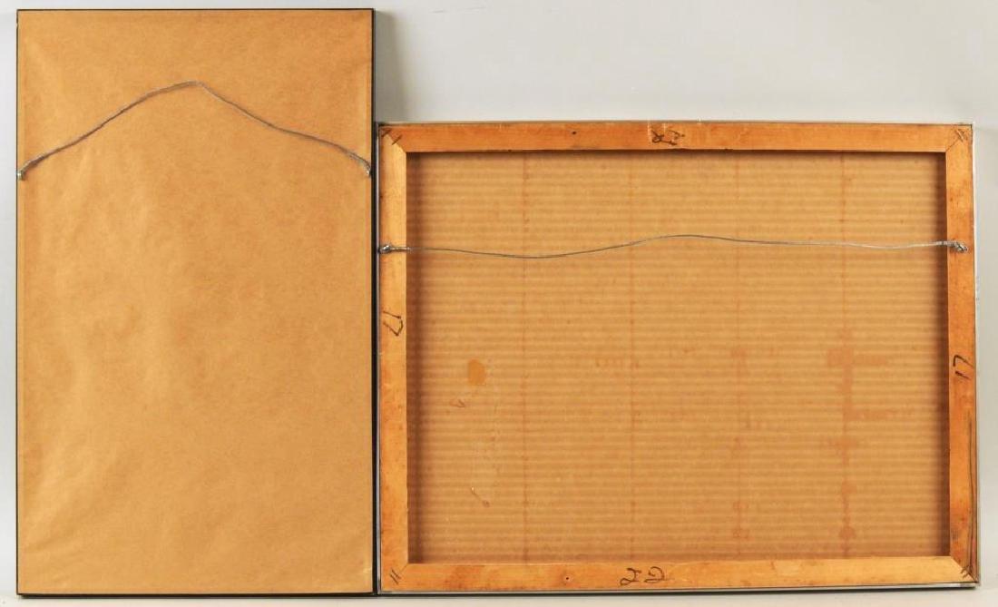 Two Modern Framed Artworks - 2