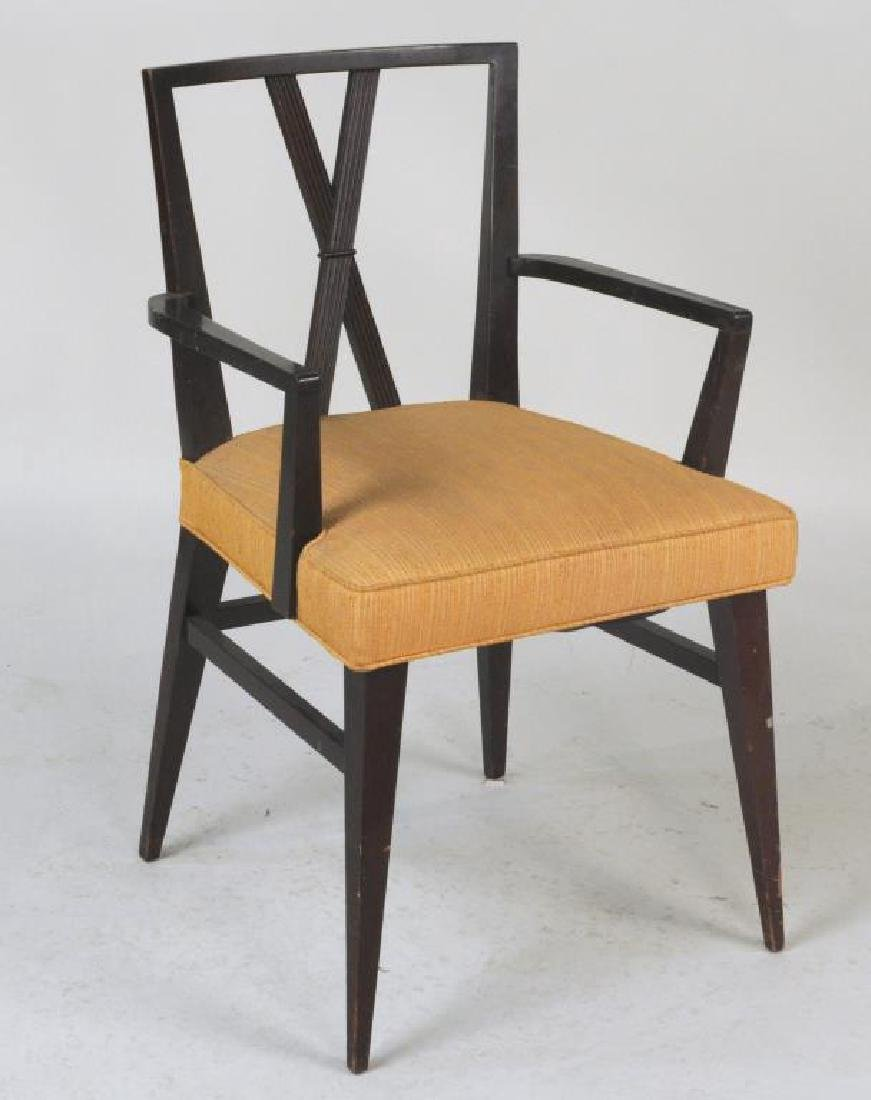 Set Six Tommi Parzinger Dining Chairs - 3