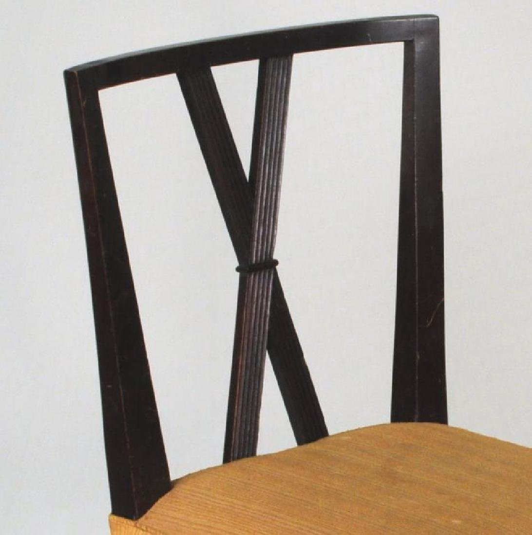 Set Six Tommi Parzinger Dining Chairs - 5