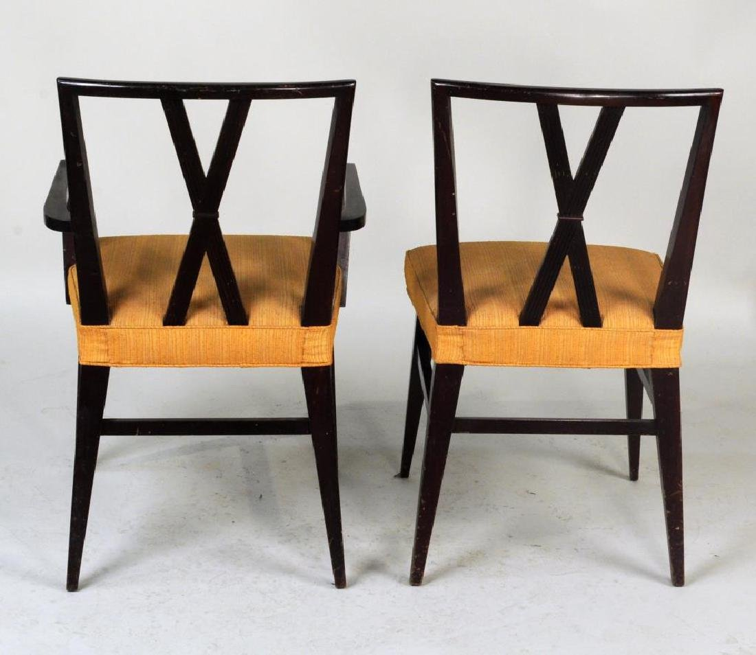 Set Six Tommi Parzinger Dining Chairs - 6