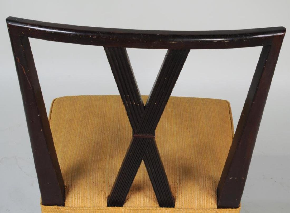 Set Six Tommi Parzinger Dining Chairs - 9
