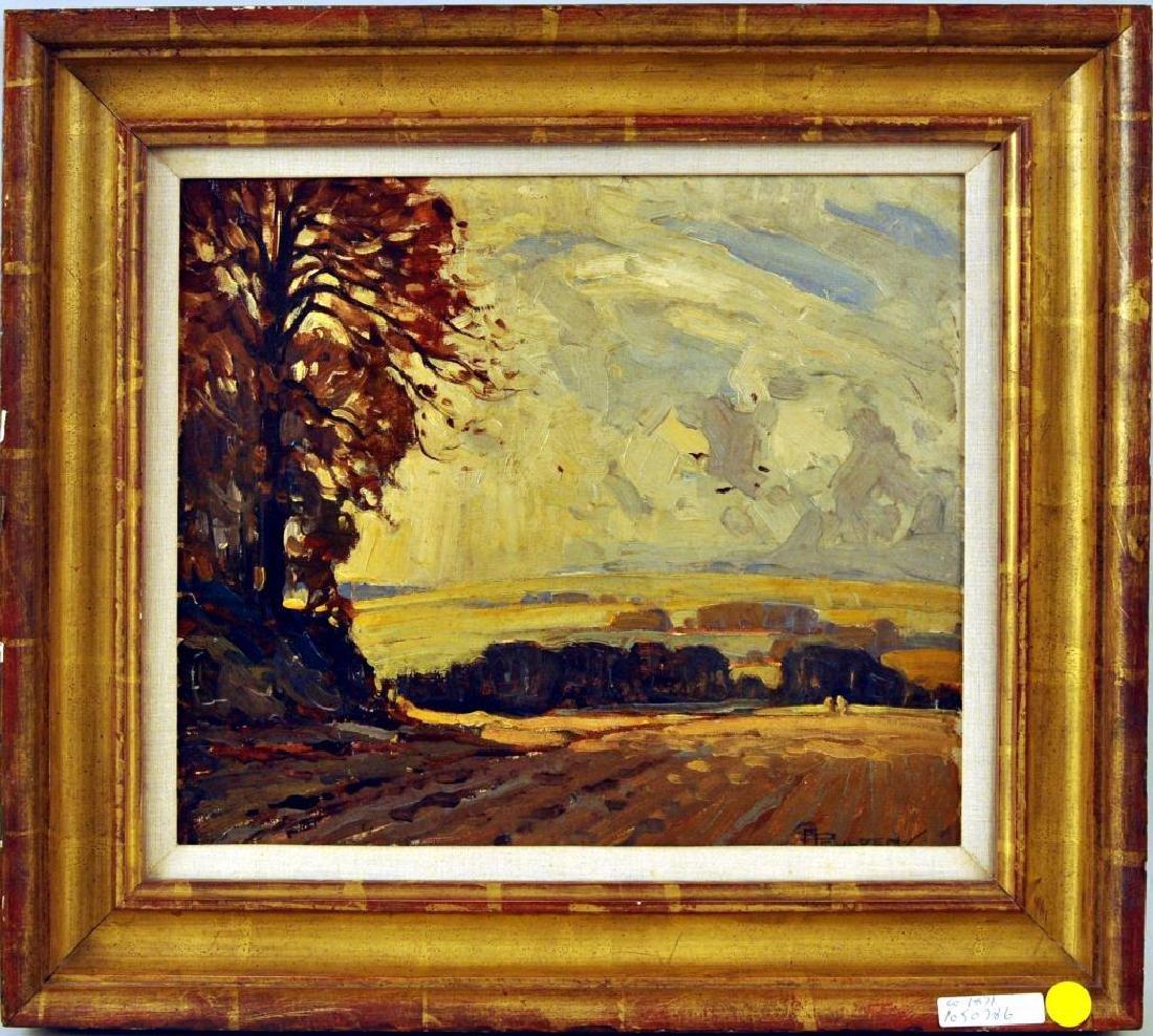"Charles A. Paulden, ""Autumn Winds"" O/B"