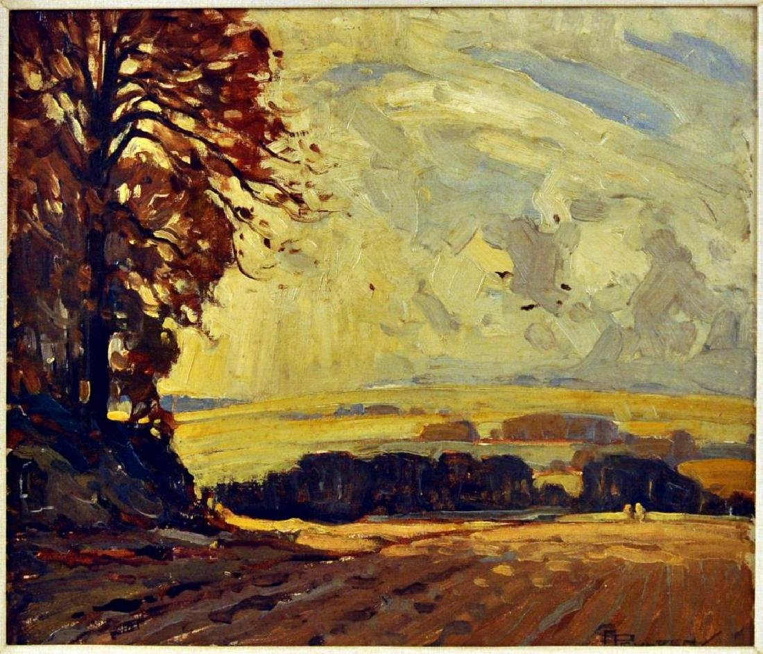 "Charles A. Paulden, ""Autumn Winds"" O/B - 2"