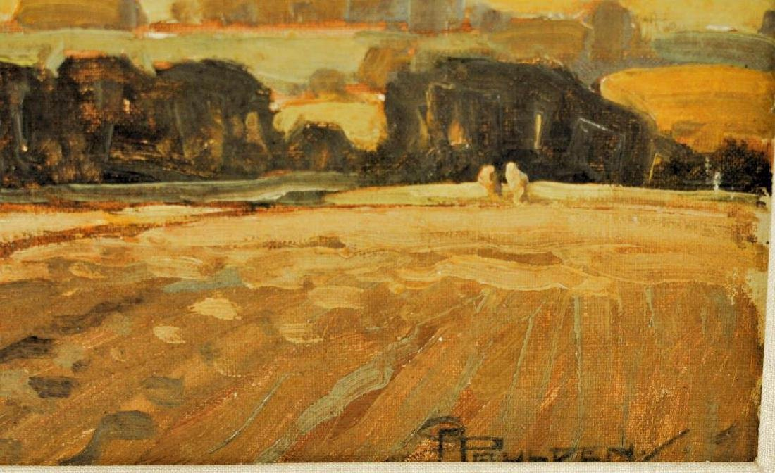 "Charles A. Paulden, ""Autumn Winds"" O/B - 3"