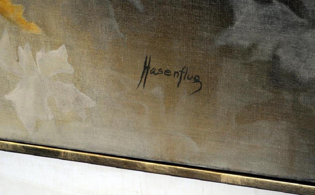 F. Hasenflug, Floral Abstract Painting - 2