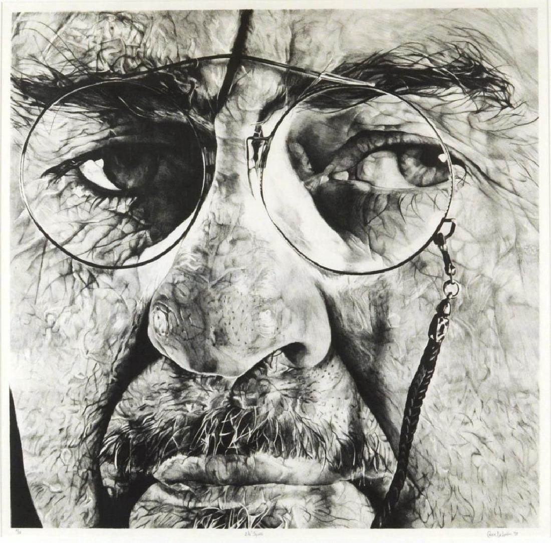 "Charles DeLong ""2 1/2"" Square"" Lithograph - 2"