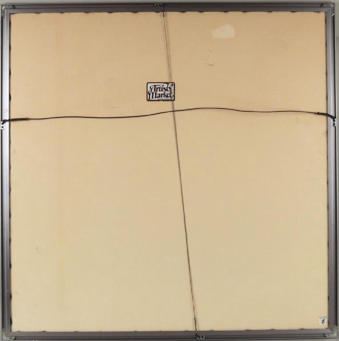 "Charles DeLong ""2 1/2"" Square"" Lithograph - 4"