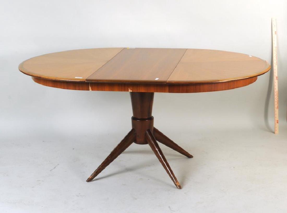 Melchiorre Bega, Extension Mahogany Dining Table