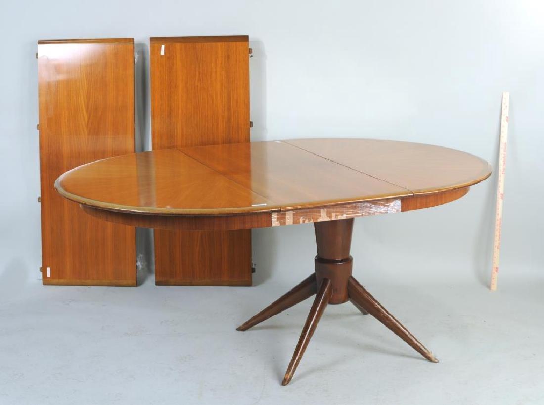 Melchiorre Bega, Extension Mahogany Dining Table - 2