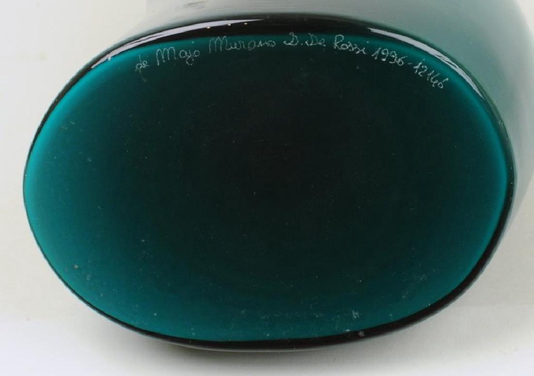 Italian Murano Colored Glass Vase - 3