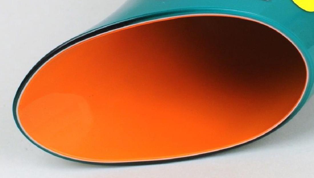 Italian Murano Colored Glass Vase - 4