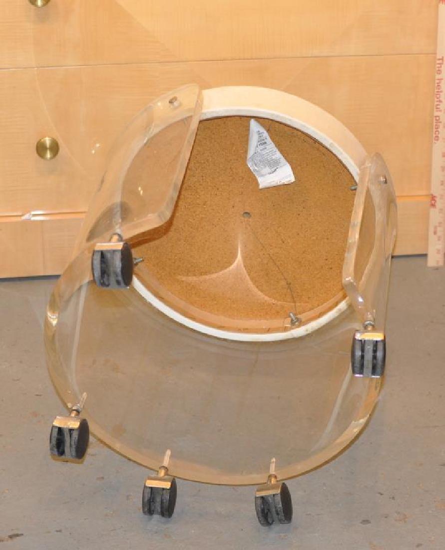 Modernist Lucite Stool - 3