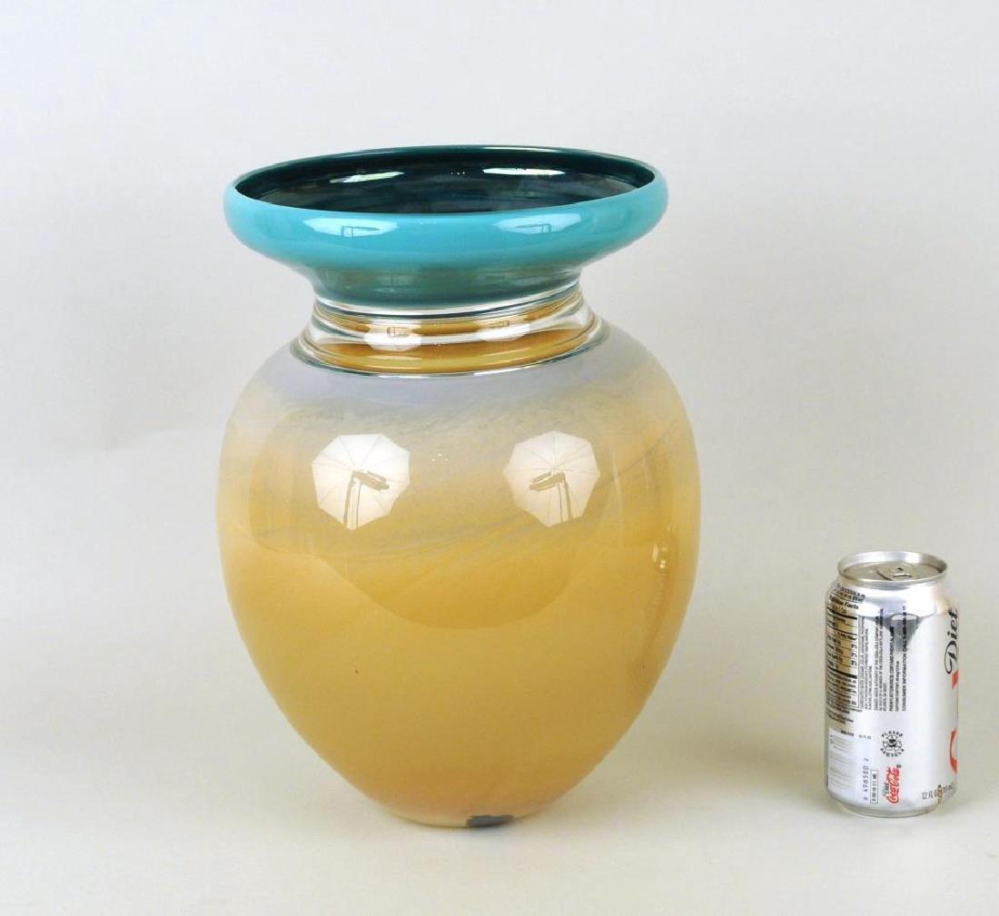 Modern Cased Glass Vase