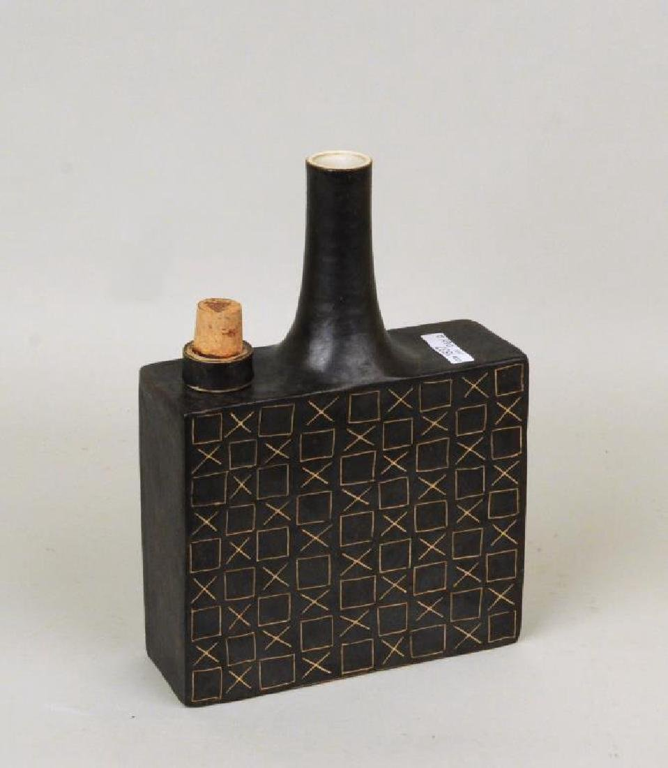 Bruno Gambone 2 Glazed Ceramic Vessels - 3
