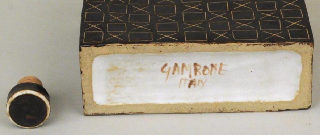 Bruno Gambone 2 Glazed Ceramic Vessels - 4
