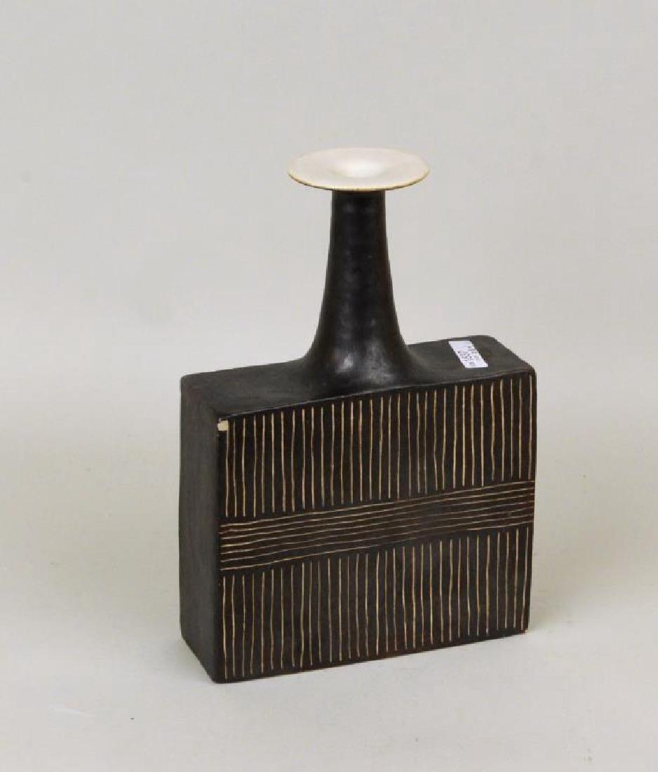 Bruno Gambone 2 Glazed Ceramic Vessels - 5